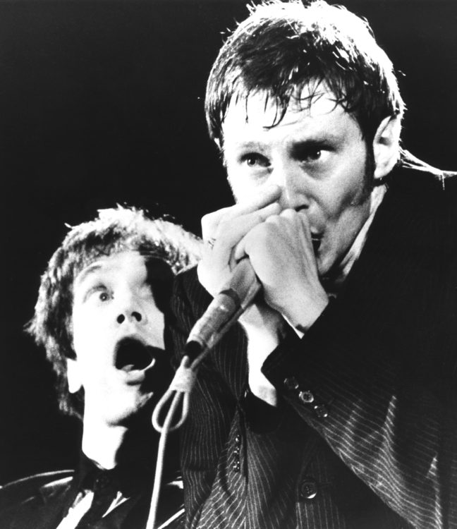 Wilko Johnson y Lee Brilleaux | Foto: Dr.Feelgood