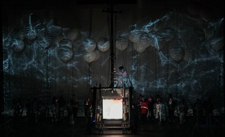 La Creación De Haydn Por La Fura Dels Baus Auditorio San Lorenzo Del Escorial Madafackismo Underground