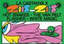 El X Aniversario del Sello La Castanya traerá a Hot Snakes y The Vant Pelt