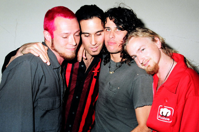 Stone Temple Pilots en los MTV Movie Awards de 1993