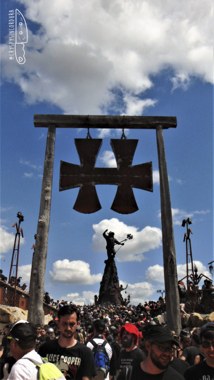 Estatua Lemmy Kilmister HellFest 2019