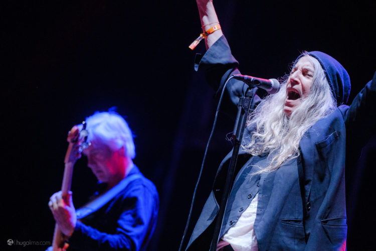 Patti Smith Paredes de coura 2019