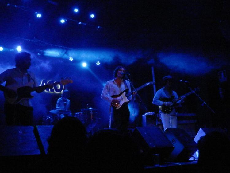 Los Volcanes concierto Madrid Sala Caracol