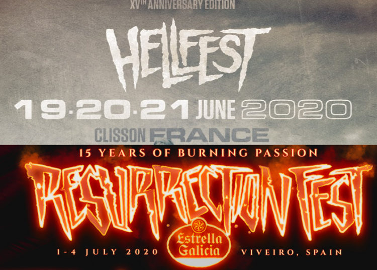 resurrection fest hellfest sold out record 2020