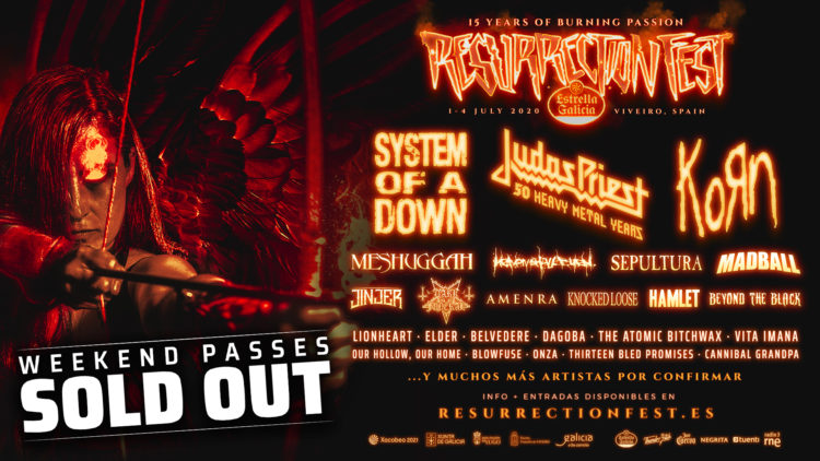 resurrection fest sold-out 2019