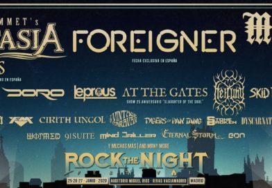 rock the night festival 2020 avance cartel