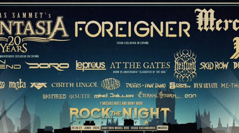 rock the night festival 2020 avance cartel