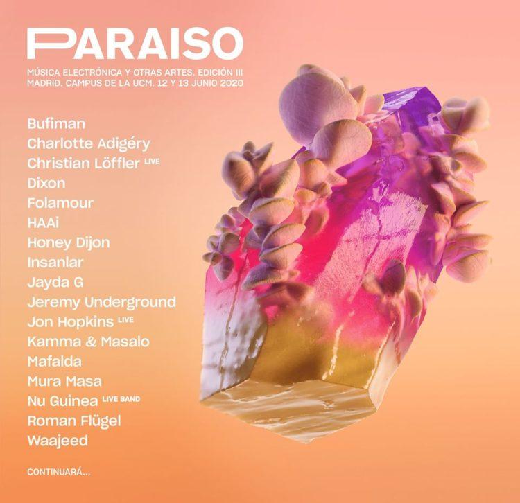 paraiso festival 2020 cartel avance