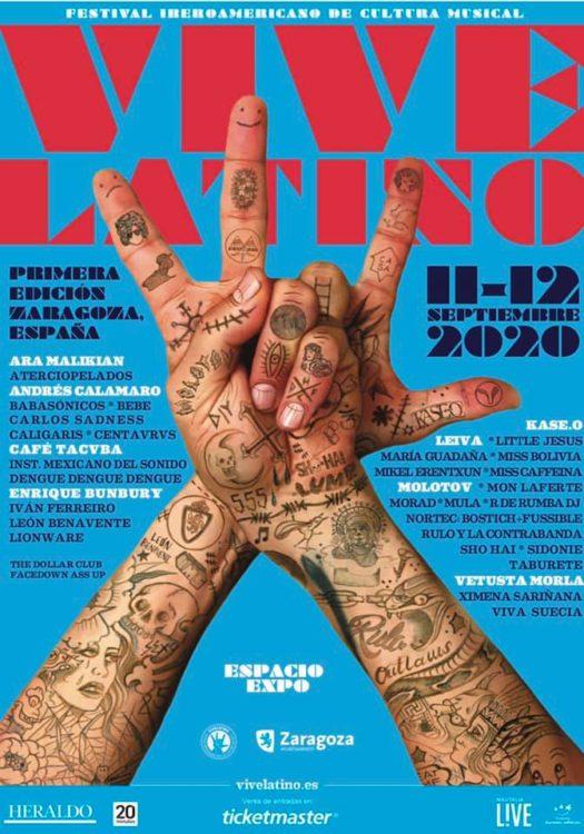 vive latino cartel zaragoza 2020