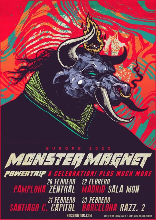monster magnet cartel gira 2020 españa