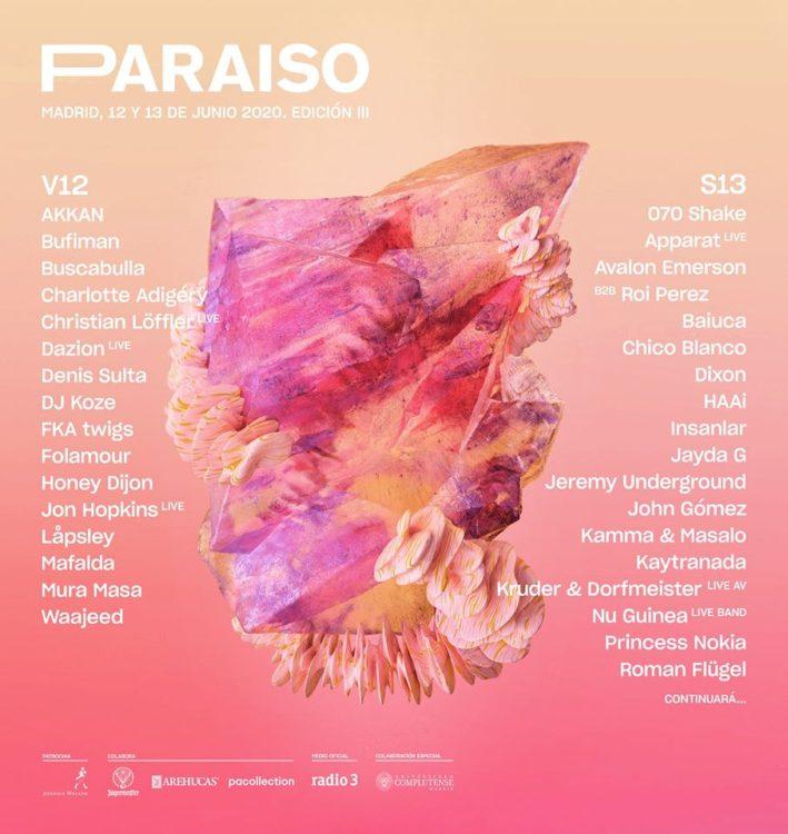 cartel paraiso festival 2020 febrero