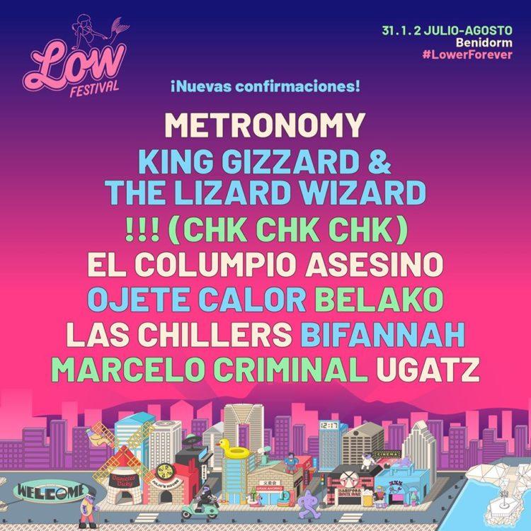 low festival avance cartel febrero 2020