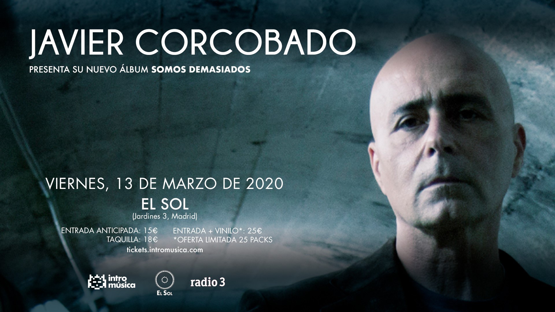 javier corcobado madrid concierto 2020
