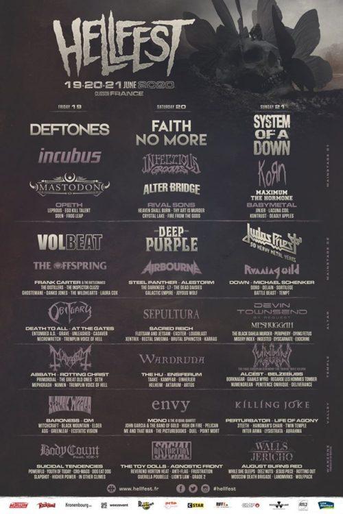 hellfest 2020 cartel lineup