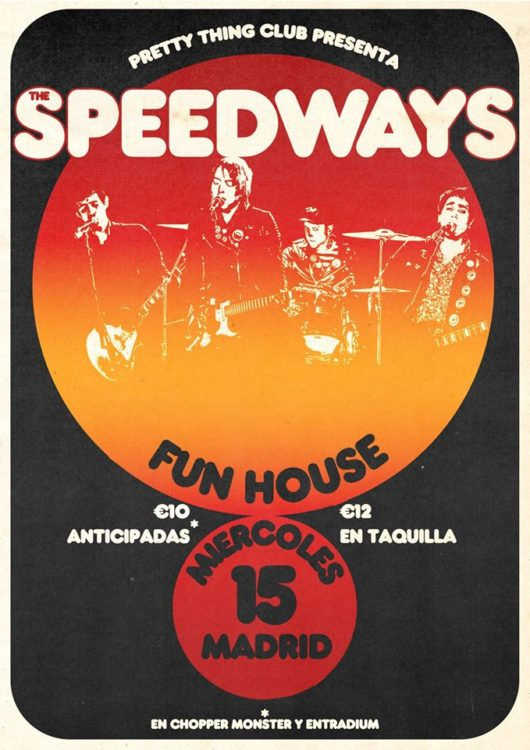 the speedways poster
