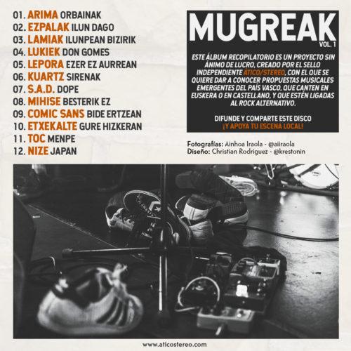 mugreak vol.1 rock alternativo vasco